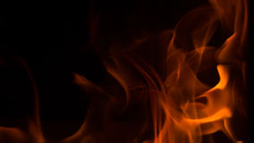 Low oxygen fire royalty free stock images