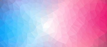 Low Poly abstract background with colorful triangular polygons. With a brilliant colors range Royalty Free Stock Photos
