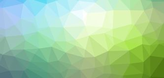 Low Poly abstract background with colorful triangular polygons. With a brilliant colors range Royalty Free Stock Images