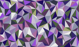 Low poly abstract background in curve. Low poly colorful abstract background in curve EPS 10 Royalty Free Stock Photography