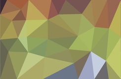 Low poly abstract background green. Red, blue Royalty Free Stock Photos