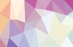 Low poly abstract background light purple. White Royalty Free Stock Photos
