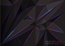 Low poly abstract background vector illustration