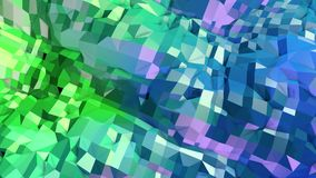 Low poly abstract background with modern gradient colors. Blue green 3d surface 15. Low poly abstract background with modern gradient colors stock illustration