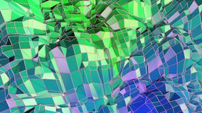 Low poly abstract background with modern gradient colors. Blue green 3d surface 19. Low poly abstract background with modern gradient colors vector illustration