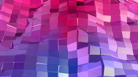 Low poly abstract background with modern gradient colors. Red blue 3d surface. V 24. Low poly abstract background with modern gradient colors Royalty Free Stock Photo