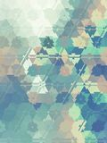 Low Poly Abstract Background. Low poly triangular background Stock Photography