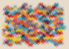 Low poly abstract mosaic. vector background Royalty Free Stock Photos