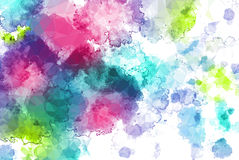 Low poly abstract watercolor background Royalty Free Stock Image