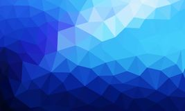 Low poly background blue color. Vector illustration perfect for any design purpose vector illustration