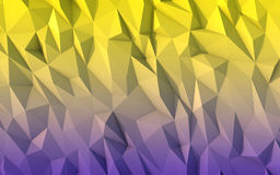 Low poly background for card, poster or wallpaper. Multicolor D Stock Images