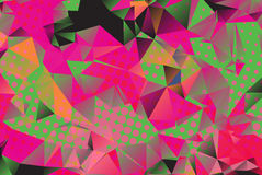 Low poly background with many dots Royalty Free Stock Photos