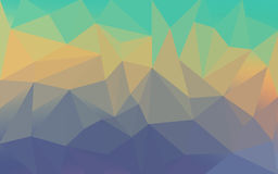 Low Poly Background 4 Stock Images