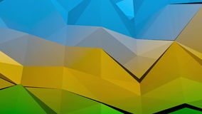 Low-Poly Background stock footage