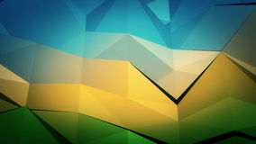 Low-Poly Background stock video footage