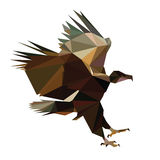Low poly bird  Royalty Free Stock Image