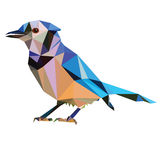 Low poly bird  Stock Images
