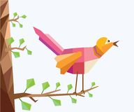Low Poly Bird Stock Photos