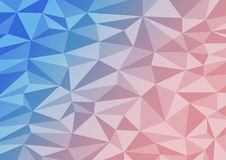 Low poly blackground Royalty Free Stock Images