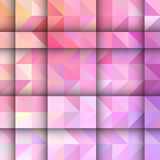 Low poly design background Royalty Free Stock Photos