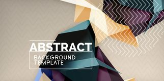 Low poly design 3d triangular shape background, mosaic abstract design template. Vector illustration vector illustration