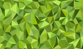 Low poly eco green abstract background in curve Stock Photos
