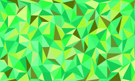 Low poly eco green abstract background in curve. EPS 10 stock illustration