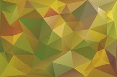 Low Poly Fall Background Royalty Free Stock Image