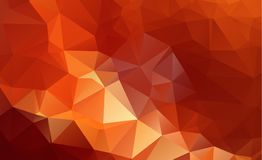 Low poly geometric background consisting of triangles of differe Stock Photography