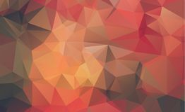 Low poly geometric background consisting of triangles of differe Stock Image
