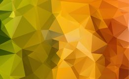 Low poly geometric background consisting of triangles of differe Royalty Free Stock Image