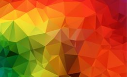 Low poly geometric background consisting of triangles of differe. Nt sizes and colors eps.10 royalty free illustration