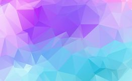 Low poly geometric background consisting of triangles  Royalty Free Stock Photo