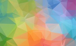 Low poly geometric background consisting of triangles of differe. Nt sizes and colors eps.10 vector illustration