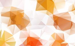 Low poly geometric background consisting of triangles  Stock Image