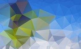 Low poly geometric background consisting of triangles Royalty Free Stock Photography