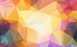 Low poly geometric background consisting of triangles Royalty Free Stock Image