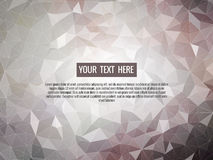 Low poly gray background abstract for graphic design Royalty Free Stock Image