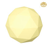 Low poly moon Royalty Free Stock Photography