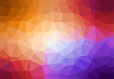 Low Poly Multicolour Background Design vector illustration
