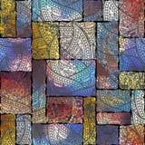 Seamless pattern Paisley. Royalty Free Stock Image