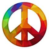 Low poly peace Stock Photos
