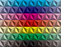 Low poly pyramids gradient Royalty Free Stock Photo