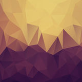 Low Poly Rainbow Background Stock Images