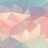 Low Poly Rainbow Background Stock Photo