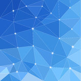 Low poly seamless pattern Stock Images