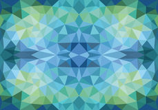 Low poly seamless vector pattern Royalty Free Stock Image