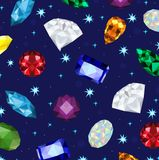 Low poly set of gem,jewel ,crystal background texture,geometric concept,vector stock illustration