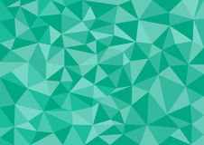 Low poly style vector, green  low poly design, low poly style illustration, Abstract low poly background vector, Stock Image