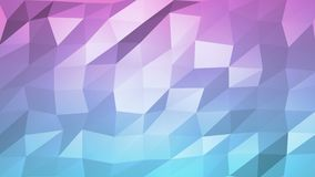 Low poly surface morphing abstract 2d animation